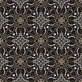 Boho Flower Pattern Stock Images