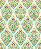 Boho Flower Pattern Stock Photos