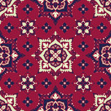 Boho Flower Pattern. Boho style flower seamless pattern. Tiled floral design, best for print fabric or papper and more Stock Photography