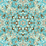 Boho Flower Pattern Royalty Free Stock Image