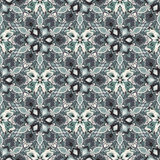 Boho Flower Pattern Royalty Free Stock Photography