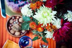Boho flowers bouquet Stock Photography
