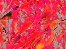 Boho kaleidoscope abstract seamless pattern. Stock Photography