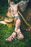 Boho lata moda fotografia royalty free
