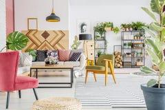 Boho living room Stock Photos