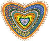 Boho Love1 Stockbild