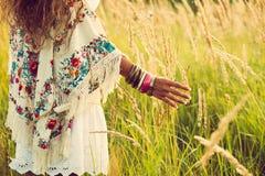 Boho mode Fotografering för Bildbyråer