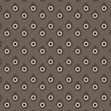 Boho Pattern Retro Background and Eyes. Vector Royalty Free Stock Images
