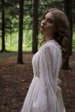 Boho rustieke Bruid Royalty-vrije Stock Fotografie