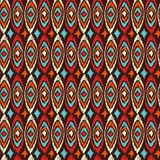 Boho seamless pattern vintage shapes background Royalty Free Stock Image