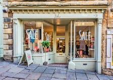Boho sklepu przód w Frome, Somerset Fotografia Royalty Free