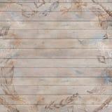 Boho spadku drewna Modny tło ilustracji
