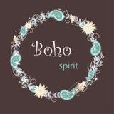 Boho-Stimmung stock abbildung