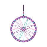 Boho style dream catcher Royalty Free Stock Images