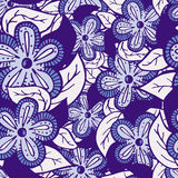Boho Style Hand Drawn Seamless Pattern. Hand drawn boho style colored seamless pattern. Can be used for wallpapers, pattern fills, web page backgrounds, textile Royalty Free Stock Photos