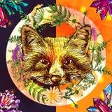 Boho style illustration Stock Photo