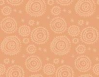 Boho-style tender pattern Royalty Free Stock Photo