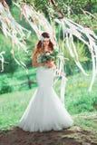 Boho style wedding Royalty Free Stock Photo