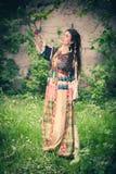 Boho summer dress Stock Photography