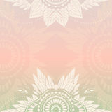 Boho template Royalty Free Stock Images