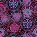 Boho tribal seamless pattern Royalty Free Stock Photo