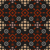 Boho tribal seamless pattern Royalty Free Stock Image