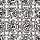Boho tribal seamless pattern Stock Images