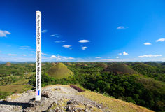 Bohol Chocolate Hill Royalty Free Stock Photo