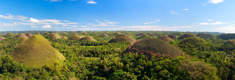 Bohol Chocolate Hills Stock Photography