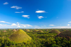 Bohol Chocolate Hills Royalty Free Stock Photo