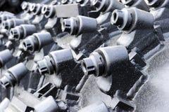 Bohrende Ausrüstung des Bergbaus Stockfoto