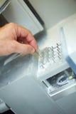 Bohrgeräte für einen CAD-Nocken lizenzfreies stockbild