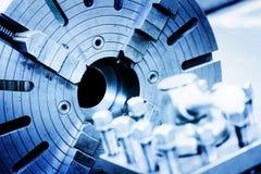 Bohrungs-, Bohren und Fräsmaschine in der Werkstatt Industrie lizenzfreie stockfotografie
