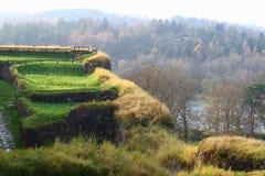 Bohus Festung stockbild