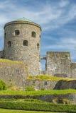 Bohus Fortress in Sweden. Bohus Fortress lies along the old Norwegian Swedish border in Kungalv, Bohuslan, Sweden stock photo