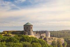 Bohus zbocza forteczna ruina Obrazy Royalty Free