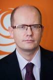 Bohuslav Sobotka Royaltyfri Bild