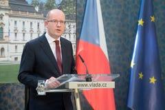 Bohuslav Sobotka Stock Image