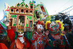 boi巴西bumba狂欢节节日meu 免版税库存照片