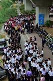BOI 2011 Bangkok juste, Thaïlande Images stock