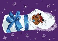 Boi recém-nascido, começo de 2009   Imagem de Stock Royalty Free