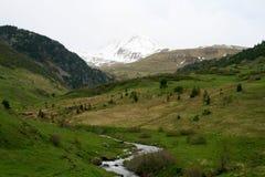 Boi Taull,瓦勒de Boi,卡塔龙尼亚 库存图片