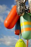 Boia coloridas Imagens de Stock
