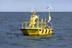Boia da pesquisa do tempo do oceano Imagem de Stock