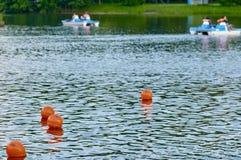 Boia de flutuação da segurança Fotos de Stock