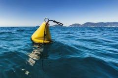 Boia de Yellow Sea Foto de Stock Royalty Free
