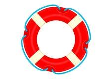 Boia salva-vidas dos desenhos animados Fotos de Stock Royalty Free