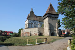 Boian fortified church Stock Photography