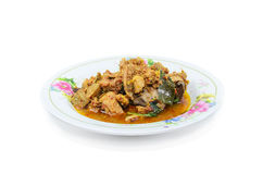 Boil Chicken Royalty Free Stock Image
