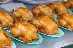 Boil chicken sauce. A Boil chicken sauce on the dish royalty free stock image